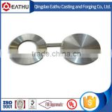 Spectacle slip blind flange