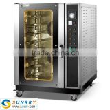 Hot sale high quality electric 8 trays bakery french bread cake baking oven machine used for kitchen