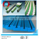 uhmwpe machinery parts/roller chain guides