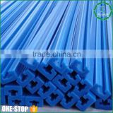 OEM custom length and size wear resistant sliding door track rail mc nylon plastic chain guide