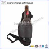 Factory hot sell handmade fashion nylon material beer holster,fits beer can or bottle