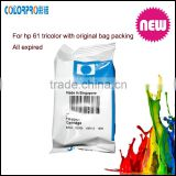 Top consumable products Original ink cartridge for hp ch561w ch562w 61 printer cartridge
