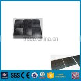 durable and easy to clean Weather Resistance sound & shock absorbing rubber mat 915x915mm