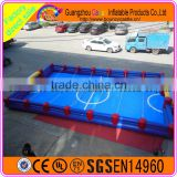 Commercial Inflatable Human Table Football Games For Adults And Kids