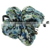 Printing Bowknot U Clip With Acrylic New Fashion Hair Accessories