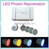 Led Light For Skin Care 4 Colors LED Light PDT 630nm Blue Homeuse Beauty Machine With Vibrating Function