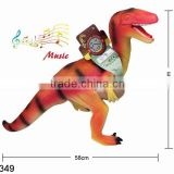 23inch dinosaurs model with IC non-toxic electric plastic dinosaur toys dinosaur action figure with 6 sounds