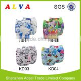 Alva 2016 New Series Crayons and Color Pencils Pictures Baby Cloth Diaper Wholesale                                                                         Quality Choice
