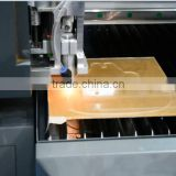 CNC Contour Foam Cutting Machine (oscillating dual blade) and uv printing Integrated machine factory price