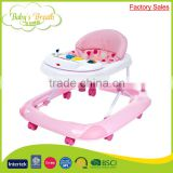 BW-01A factory sales safe softextile new model baby walker with removable musical box                                                                                         Most Popular