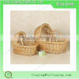 High quality beautiful bassinet wicker baby basket