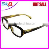 Buffalo horn frame polarized sun glasses