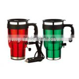 12V electric heated travel mug,auto mug