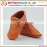 wholesale china minion funny style soft sole non-slip solid color baby infant leather shoes