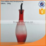 Wholesale 290ml colored oil and vinegar bottle with high quality                                                                                                         Supplier's Choice