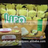 Vietnam Delicious Good Price LIPO 210G Durian Egg Cookies for Breakfast and Snack