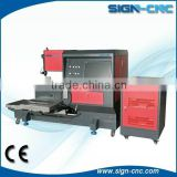 SIGN 5050 YAG laser metal cutting machine/5mm wall thickness carbon steel Tube/stainless steel pipe laser cutting machine