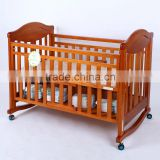 2015 best quality wooden baby Cribs