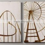 2014 hot-sales Ferris wheel wood frames for canvas prints