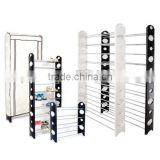 2-10 tier Metal and Plastic All Types of High Quality Adjustable shoe store display racks