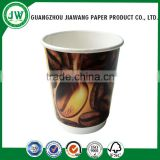 Hot china products wholesale double wall paper cup,double wall coffee paper cups,Double wall paper cups for coffee