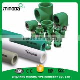 wholesale plastic white ppr pipe fb-ppr fiberglass composite pipe 16-110 mm ppr pipe and fittings for water use