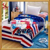 High Quality Polyester Flannel Blanket 2 Layer Cartoon Pokonyan Printed Fleece Plush Blanket