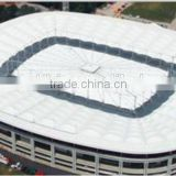 tensile fabric architecture membrane structure for Smart Retractable and large span automatic roof system