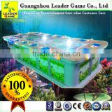 Guangzhou Leader Game luxury 16 seats fishing game machine fish hunter arcade game machine for sale