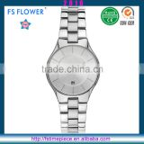 FS FLOWER - Shenzhen Watch Factory Directly Supply Japan Movt Quartz Watch All Stainless Steel Case Back Watch