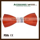 men's wood bow tie real natural wood 100% handmade bowtie wooden bowtie fashionable wholesale
