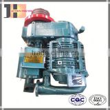 10m3 Double Purpose Hanging and Seated Type Non Lubrication Swing Cement air compressor bulk cement trailer