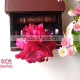 Hot Pink Artificial Thailand Orchid Flowers Hair Brooch Hair Flower