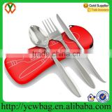 Durable, lightweight Portable Travel Neoprene case for cutlery