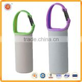 Logo Printing Neoprene Thermos Cup Sleeve , Vacuum Mug Holder , Flask And Water Bottle Cooler