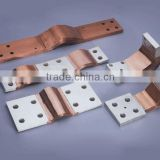 Customzied Tinned Copper Flexible Flat Braids connectors
