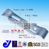 JY-1000B|Heavy duty caster wheel clamp|Caster punch die holder|Zinc plated caster fixed metal plywood