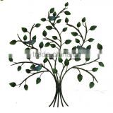 XY13472 iron tree wall art tree of life metal haning sculpture crafts home decoration wholesale