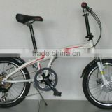 "2012-13FATION FRONT SUSPENSION 20"" SHIMANO GEAR ALUMINUM ALLOY LIGHT folding bike/floding bicycle/specialized bike"