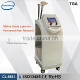 CE TUV certificate NEW Portable big spot size light sheer machine lightsheer diode laser