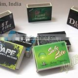 Import of Kitchen Safety Matches with Personalized matches from india