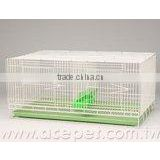pigeon metal cage with feeder