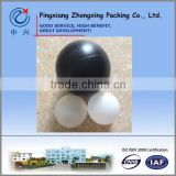 "Largest 6"" 150mm HDPE Plastic Hollow ball for water treatment"