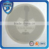 Laundry rfid sticker tag silicone inlay rfid dry / wet inlay