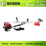 35.8cc 4 Stroke Gasoline Brush Trimmer with HONDA GX35 Engine (BC35S)