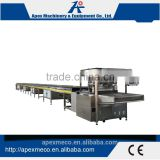 Commercial and professional chocolate moulding line small chocolate enrobing machine