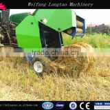 CE approved hay grass straw silage alfalfa available compress baling press mini round hay baler for tractors