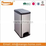 big foot pedal Stainless Steel dustbin