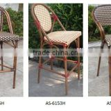 outdoor bamboo chair furniture bamboo bar high chair stools AS-6125H