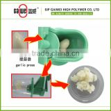 plastic manual garlic press grater